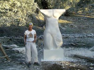 Sylvia Loew V International Sculptor Symposium (Greece, Isola di Thassos)