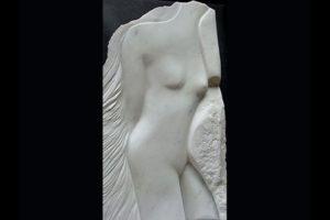 """""""Busto di donna"""" marmo statuario"""